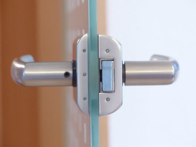 skleněné dveře domací