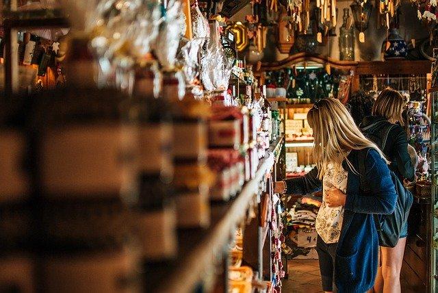 nákupy ve španělsku